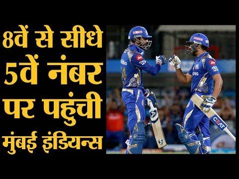 IPL 2018 | MI vs KXIP | Gayle के 50 के बाद Rohit Sharma और Krunal Pandya ने Punjab की बॉलिंग को धोया