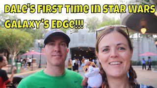 Dale's First Time in Star War's Galaxy's Edge and More Hollywood Studios Fun
