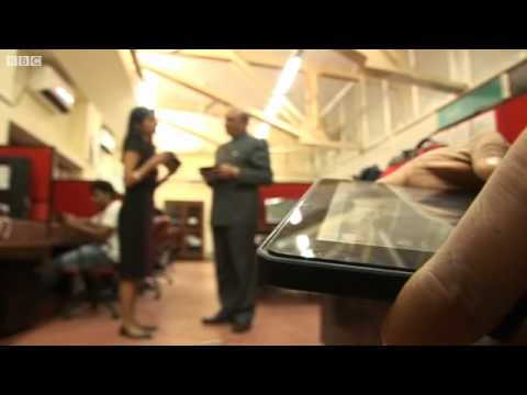BBC News   First look at India #039 s Aakash 2 tablet computer mp4