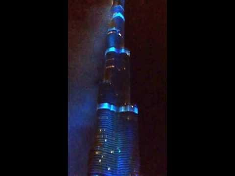 Dubai Won Expo 2020- Burj Khalifa Fireworks live!