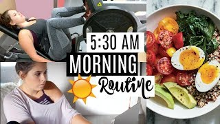 MY EARLY MORNING ROUTINE! Health & Productivity Focused