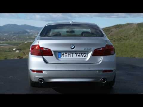 2014 BMW 535i sedan facelift - beauty & driving footage