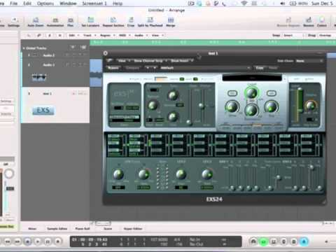 Sampling In Logic Pro 9