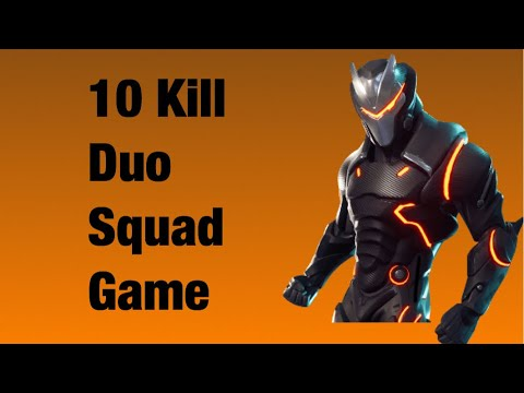 Ten kill duo squad game