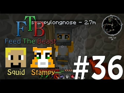 Feed The Beast #36 - Let's Get Serious!! - W/Stampylongnose