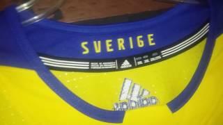 Team Sweden 2016 World Cup of Hockey Retail Premier Adidas Hockey Jerseys