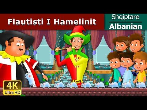 Flautisti I Hamelinit Femijet Tregime Perralla Per Femije Shqip