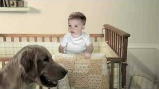 E TRADE Baby - Time Out with dog