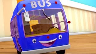 The Wheels On The Bus Go Round And Round | Nursery Rhymes Songs For Kids | Videos For Children