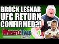 Lagu CM Punk UFC Future REVEALED! Brock Lesnar UFC RETURN?!   WrestleTalk News Jan. 2018