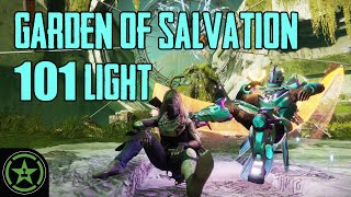 Can You Survive the Garden of Salvation at 100 Light?