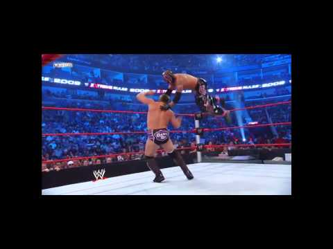 Chris Jericho Vs Rey Mysterio - Wwe - Extreme Rules 09 - 7 6 09 video