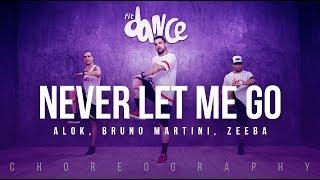 Ouça Never Let Me Go - Alok Bruno Martini Zeeba Choreography FitDance Life