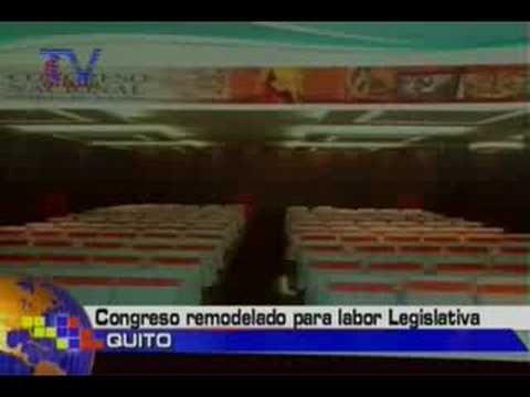 Congreso remodelado por labor legislativa
