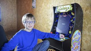The Luke & Dad Show - Galaga 1Up Arcade Classic Review