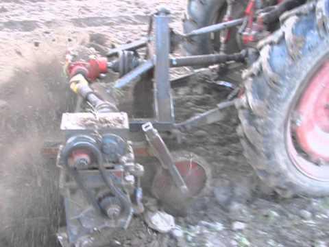 Самодельная фреза на трактор т 25