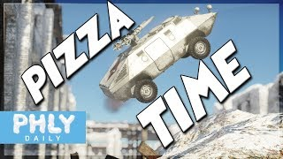 A N G E R Y Italian LUNCHBOX | PIZZA TIME (War Thunder OTO R3 T106 Gameplay)
