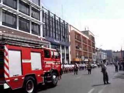 Estreno banda de los bomberos antofagasta