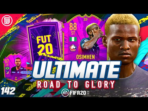 FULLY UPGRADED 88 OSIMHEN!!! ULTIMATE RTG #142 - FIFA 20 Ultimate Team Road to Glory
