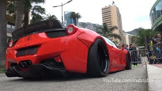 Liberty Walk Ferrari 458 Italia - Revs & Ultra Low Airlift System
