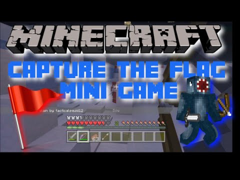 Minecraft PS3 Mini Game: Capture the Flag! | PvP!