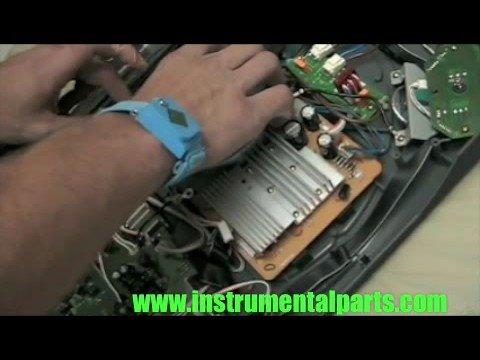 Numark TTX Motor Install www.instrumentalparts.com