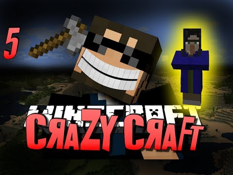 Minecraft CRAZY CRAFT 5 - STUPID WITCH(Minecraft Mod Survival)