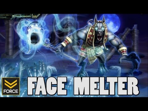 Anubis Gets Fed, Melts Face (SMITE Gameplay)