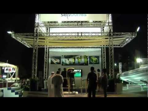 Seadunes Exhibits Dubai Boat Show 2010.mov