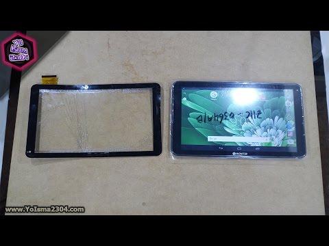 Reparación pantalla táctil - Como cambiar la pantalla táctil - Tablet y Movil