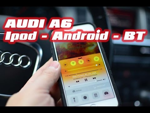 AUDI A6 BLUETOOTH USB ANDROID IPOD KIT (AUTOTOYS.COM)