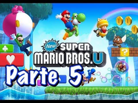 New Super Mario Bros U - Parte 5 - Español