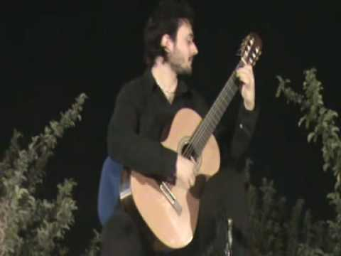 Antonio Mascolo plays My Song . Bilkent Guitar Festival Ankara .