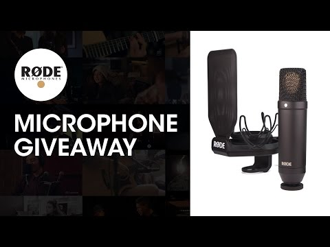 **WIN** A RODE NT1 MICROPHONE & MORE!