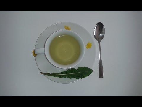 Löwenzahntee Selber Machen - Biotee Aus Löwenzahn / Löwenzahnblätter - DIY Natur Tee Zubereiten