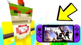 *NEVER* MESS WITH FORTNITE SWITCH GAMERS!   Nintendo Fun House   Minecraft Switch [266]