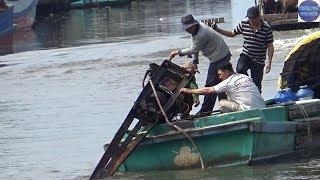 Xém bay xuống sông vì gãy ngỗng máy/Xuất hành mùng 6 tết/machine