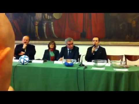 Sorteggio Final Eigth di Futsal 2012