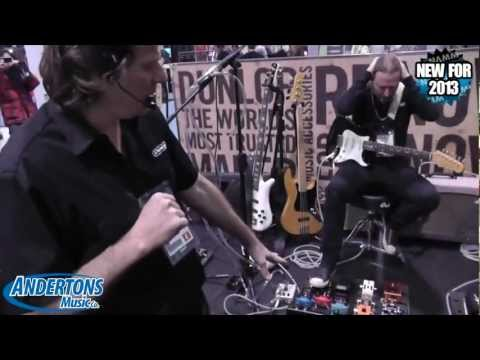 Andertons @ NAMM2013 - Dunlop Fuzz Face Mini