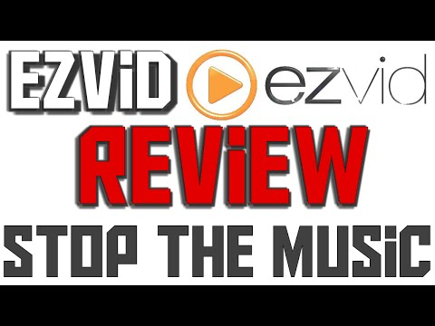 Ezvid Review and Tutorial on Editing and Screen Recording