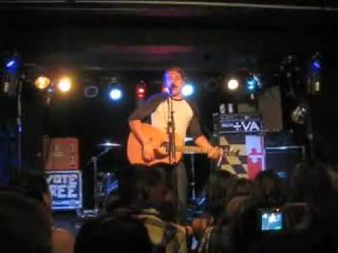 Danny Stevens of The Audition - Don't Be So Hard (Acoustic)