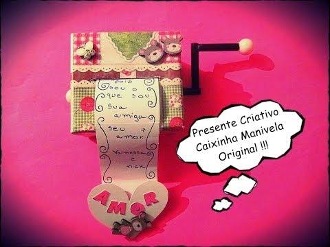 Presente para namorado criativo e barato