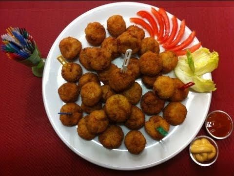 Receta: Deliciosas Croquetas de Arroz (súper fáciles y rápidas)