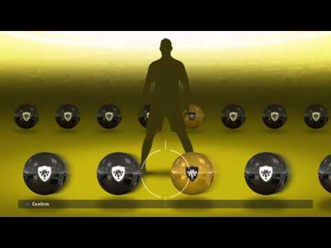 PES 2016 myClub UEFA Champions League STARS R16 Week 1 black ball #2