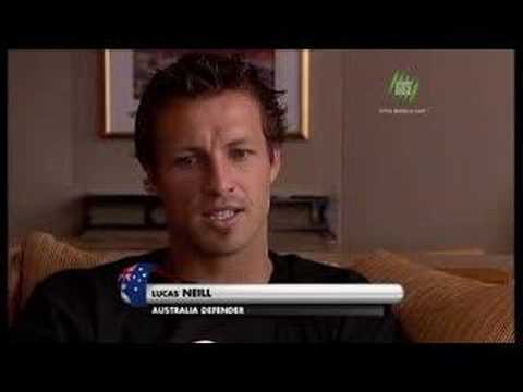 Lucas Neill (Socceroos/Blackburn Rovers) SBS Interview Part2
