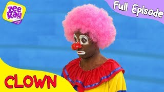 Let's Play: Clown | FULL EPISODE | ZeeKay Junior