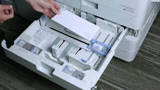 How to Print Envelopes on a Canon imageRUNNER Advance Series| SumnerOne