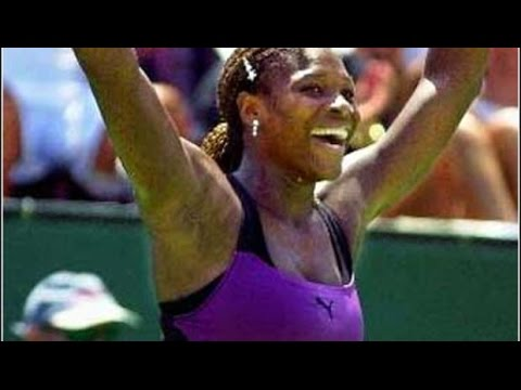 Serena Williams vs Lindsay Davenport 2000 LA Highlights