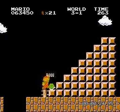 Truco de las 100 vidas en SUPER MARIO BROS Video