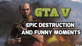 GTA V - Epic Destruction with C4 Explosive